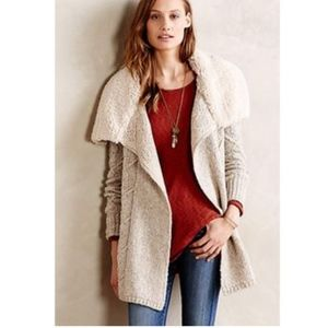 Sleeping on Snow Bondurant Sherpa Cardigan